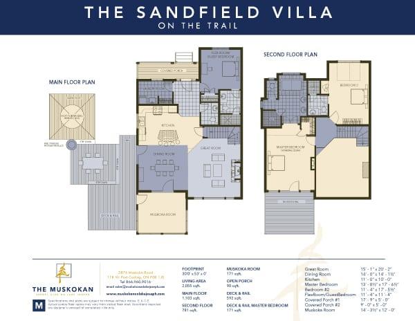 Sandfield Trail Villa